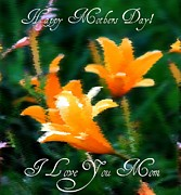Greeting Cards - Mothers Day by Elizabeth  Doran