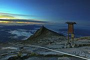 Highest Posters - Mount Kinabalu Poster by MotHaiBaPhoto Prints
