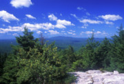New Hampshire Art - Mount Monadnock from Pack Monadnock by John Burk