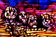 Rural Landscapes Mixed Media Prints - Mount Rushmore Print by Giuliano Cavallo