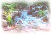 Michael Maynor Art - Mountain Stream by Michael Maynor