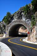 Mountain Tunnel. Print by Fernando Barozza