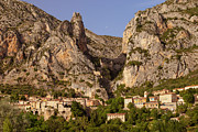 Provence Village Framed Prints - Moustier-Sainte-Marie Framed Print by Brian Jannsen