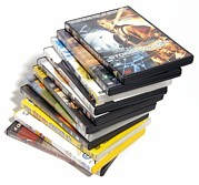 Video Art - Movie Dvds by Johnny Greig