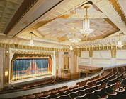 Movie Theaters, The Washoe Theater Print by Everett