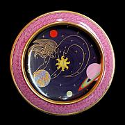 Space Ceramics Framed Prints - Ms. the Universe. Framed Print by Vladimir Shipelyov