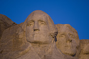 Rapid City Metal Prints - Mt. Rushmore At Sunrise Metal Print by Joel Sartore