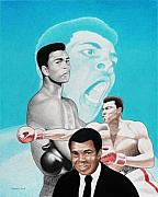 Clay Drawings - Muhammad Ali by Jay Thomas II