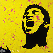 Murakami Art - Muhammad Ali by Mr Babes