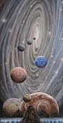 Cosmology Painting Originals - Multiverse 584 by Sam Del Russi