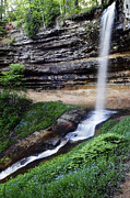 Long Framed Prints - Munising Falls Framed Print by Adam Romanowicz