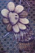 Mural - Coney Island Nyc Print by Robert Ullmann
