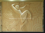 Wall Sculpture Reliefs - Mural by Prasanna Chury