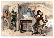 Discrimination Photo Prints - Murder Of Smith, 1844 Print by Granger