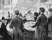 Drummer Art - Music Festival, 1881 by Granger