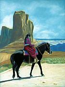 Arizona Pastels - My Grandfathers Pony by Jan Amiss