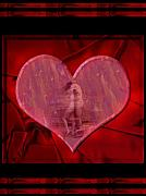 Kisses Digital Art Metal Prints - My Hearts Desire Metal Print by Kurt Van Wagner