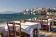Fishing Village Framed Prints - Mykonos Framed Print by Joana Kruse