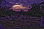 Grave Photo Originals - Myrtle Hill Cemetery HDR by Jason Blalock