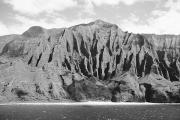 Location Art Photo Prints - Na Pali Coast Print by Joe Carini - Printscapes