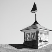 Rooftop Framed Prints - Nantucket Weather Vane Framed Print by Charles Harden