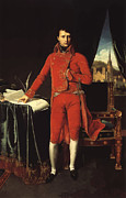 Ingres Paintings - Napoleon Bonaparte by War Is Hell Store