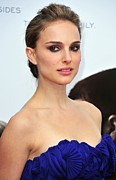 Updo Framed Prints - Natalie Portman At Arrivals Framed Print by Everett