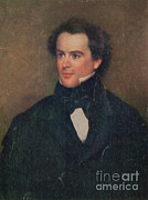 Romantic Movement Prints - Nathaniel Hawthorne, American Author Print by Photo Researchers