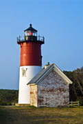 Cape Cod Metal Prints - Nauset Light Metal Print by John Greim