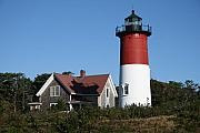 Nauset Beach Metal Prints - Nauset Lighthouse Metal Print by Gina Cormier