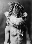 Paint Photograph Prints - NAVAJO MASK, c1905 Print by Granger