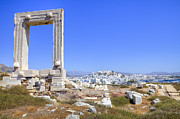 Monolith Metal Prints - Naxos - Cyclades - Greece Metal Print by Joana Kruse