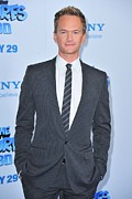 Gray Suit Framed Prints - Neil Patrick Harris At Arrivals For The Framed Print by Everett