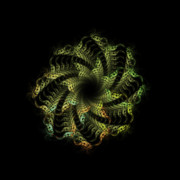 Apophysis Mixed Media - New Life by Bonnie Bruno