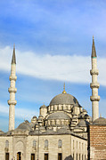 Byzantine Photos - New Mosque in Istanbul by Artur Bogacki