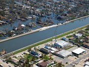 Floods Photos - New Orleans After Hurricane Katrina by Everett