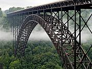 New River Prints - New River Gorge Bridge West Virginia Print by Brendan Reals