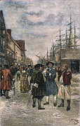 18th Century Photos - NEW YORK, 18th CENTURY by Granger