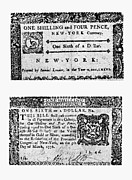 Pence Posters - New York Bill, 1776 Poster by Granger