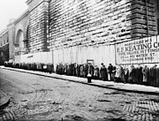 Bread Line Prints - New York City: Bread Line Print by Granger