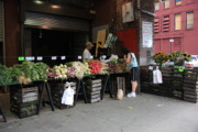 Grocer Prints - New York City Market Print by Frank Romeo