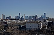 New York City Skyline Photos - New York City Skyline by Carlos Justiniano