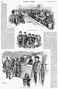 Register Framed Prints - New York: Immigrants, 1891 Framed Print by Granger