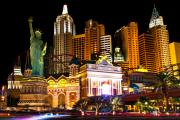 Jmp Photography Prints - New York  New York Casino Print by James Marvin Phelps