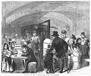 Soup Framed Prints - New York: Poverty, 1868 Framed Print by Granger