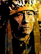 Native American Paintings - Nez Perce Chief by Paul Sachtleben