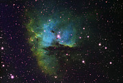 Cassiopeia Constellation Prints - Ngc 281 Pacman Nebula In Cassiopeia, Imaged In Narrowband Hydrogen Alpha Print by Malcolm Park