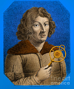 Copernicus Photo Prints - Nicolaus Copernicus, Polish Astronomer Print by Omikron