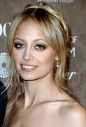 Black Tie Framed Prints - Nicole Richie At Arrivals For The Art Framed Print by Everett