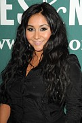 False Eyelashes Posters - Nicole Snooki Polizzi At In-store Poster by Everett